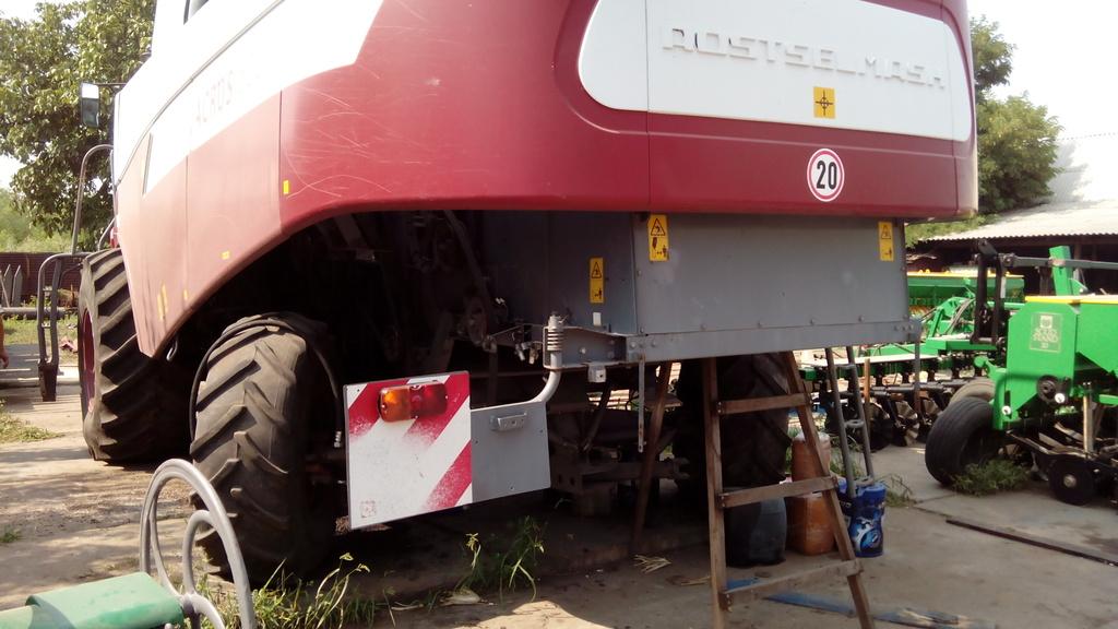 Комбайн акрос 530 ремонт